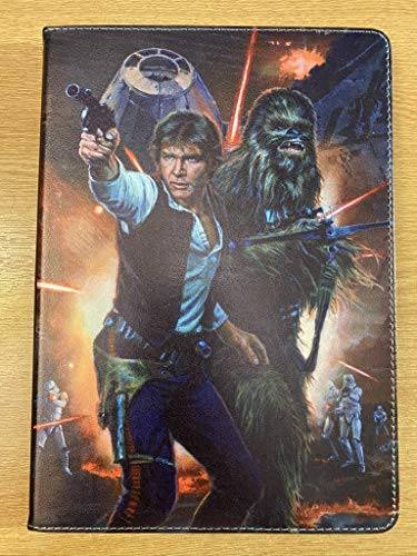 For iPad Pro 10.5/10.2 / Air 3 Star Wars Han Solo Chewbacca Deat Star Jedi Darth Vader Kylo Ren New Case Cover +