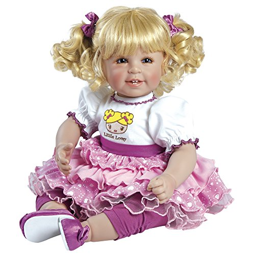Adora ToddlerTime Little Lovey Doll with high-Wasted Party Dress and Shiny Shoes