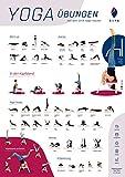 SIYA® Yoga Inspirations-Poster Kopfstandhocker - DIN A2 Format - Umkehrposen Asanas Fitness Partnerübungen