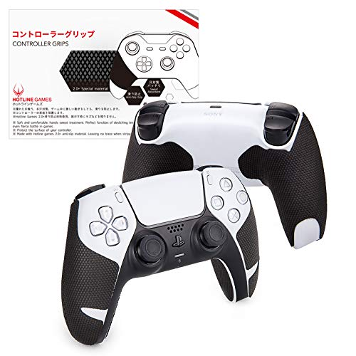 how to refund a game on ps4 and ps5 Hotline Games 2.0 Plus Controller Grip for PS5 Controller Grips Tape Playstation 5 DualSense Wireless Controllers,Anti-Slip,Sweat-Absorbent,Easy to Apply (Handle Grips (4PCS))