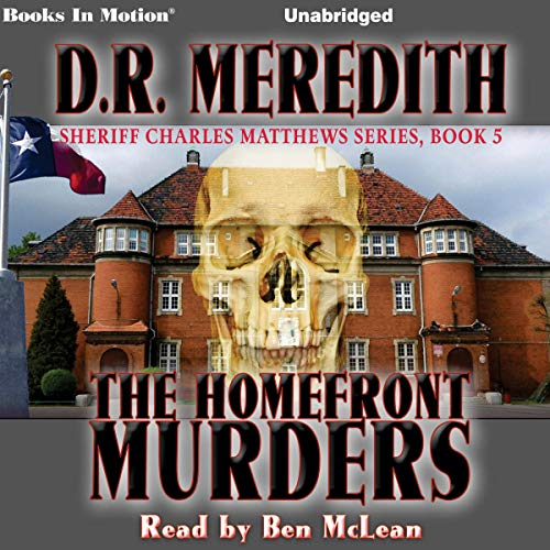 The Homefront Murders audiobook cover art