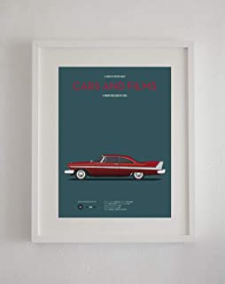 MugKD LLC Christine car Movie Poster Gifts for Lovers Poster [No Framed] Poster Home Art Wall Posters
