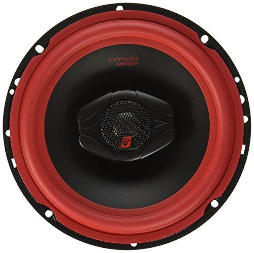 Cerwin-Vega V465 Vega 6.5IN 2WAY Coax SPKR-Set of 2, Black, 15.00in. x 8.10in. x 4.30in.