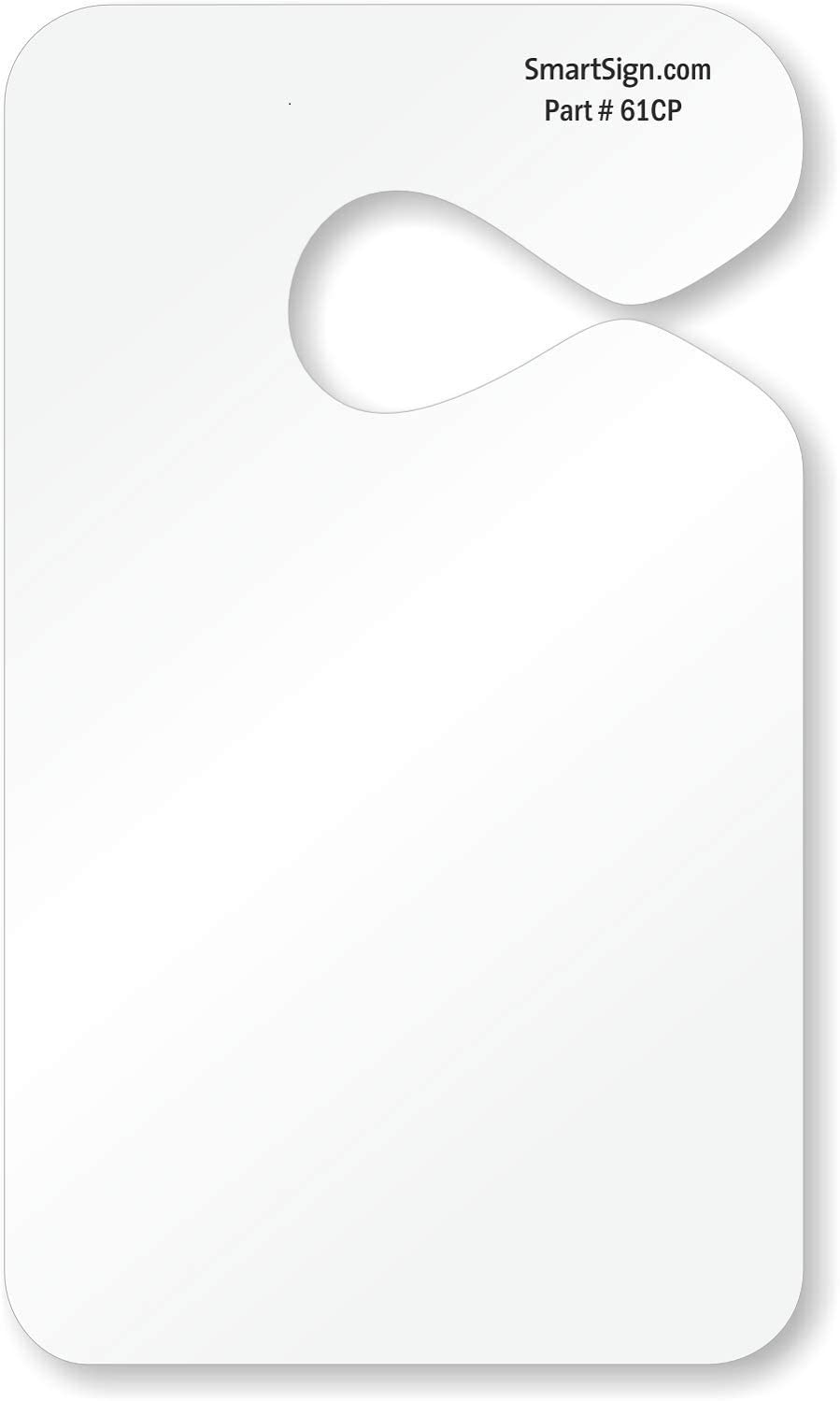 Max 84% OFF SmartSign - PP-0026 Pack of 150 Fresno Mall H Parking Permit Laser Printable