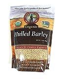Grain Place Foods Non-GMO Organic Hulled Barley 2lb Bag-SET OF 10