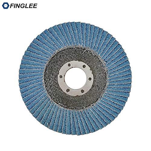 Find Bargain Xucus FINGLEE 4.5in/115mm Grinding Wheels Flap Discs Angle Grinder Sanding Discs Metal ...