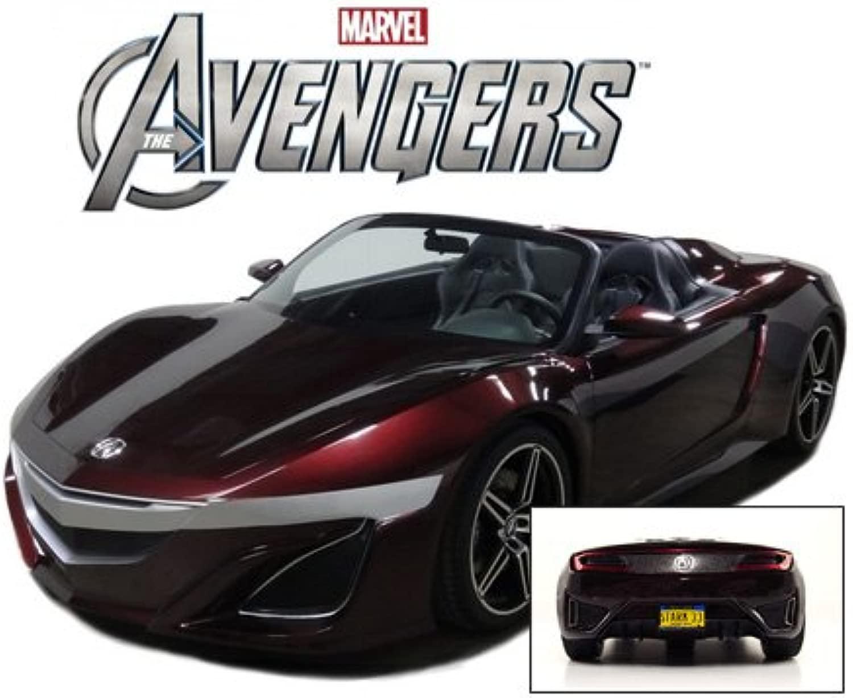 Acura NSX stradaster 2012 Avengers Movie Tony estrellak Iron uomo 1 43 modello