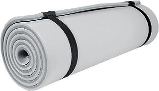 Spokey Isomatta, yogamatta, gymnastikmatta campingrest, grå, 180 cm