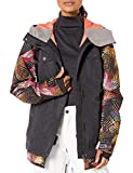 Roxy Snow Junior's Ceder Jacket, True Black Night Palm, S