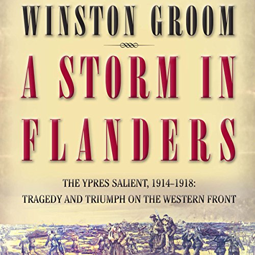 A Storm in Flanders audiobook cover art