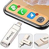 Clé USB iPhone 16GO Double Connectique Lightning USB Flash Drive iPhone Appareil Photo iPad OJI