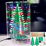 Condensadores Árbol de Navidad con MP3 Función Colorida RGB LED...