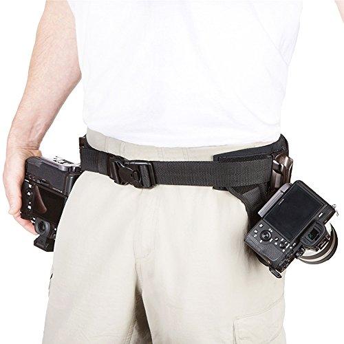 Spider Light Dual Camera System Holster Hüft-Tragesystem für Zwei spiegellose Kameras oder kleine DSLR