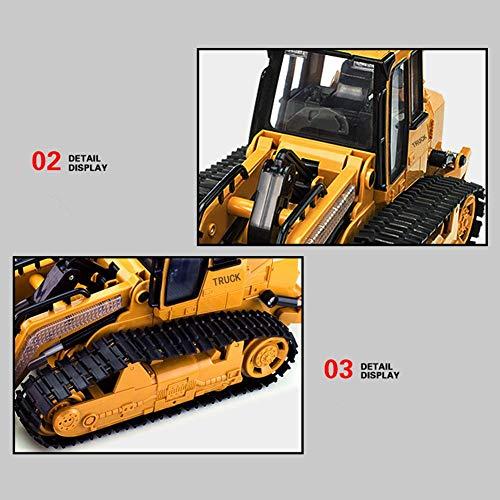 RC Kettenfahrzeug kaufen Kettenfahrzeug Bild 1: RC big bagger spielzeug Kinder, Fernsteuerungs Bagger Spielzeug Nachgemachter Großer Bulldozer mit Sound und Licht für Kinder*