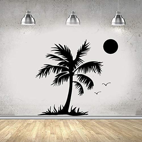 wZUN Pegatinas de Pared de árbol de Coco de Moda decoración de...