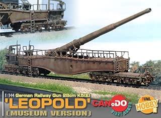 1/144 Scale Leopold 28cm Railway Gun, Museum Version