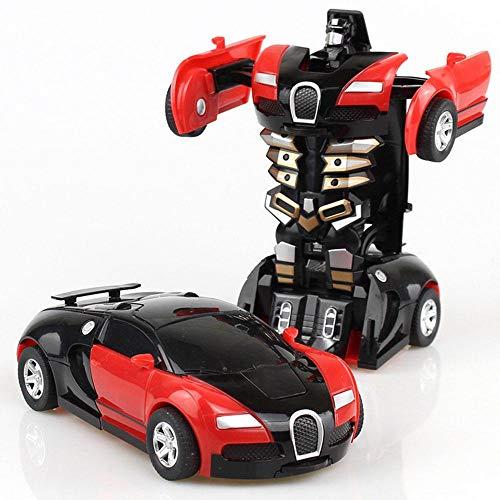 leegoal Transformation Roboter-Auto,Transformer Auto, Transformator klein Roboter Auto,Kinder Spielzeug