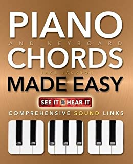 Piano and Keyboard Chords Made Easy: Comprehensive Sound Links (Music Made Easy)