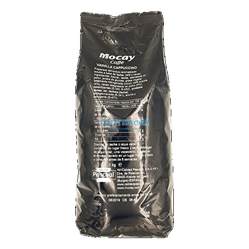 Mocay caffè - Vainilla Cappuccino - Preparado Soluble -1 kg