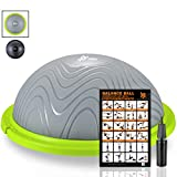 Best Balance Trainers - Newbona Balance Ball Trainer with Exercise Handles, Resistance Review