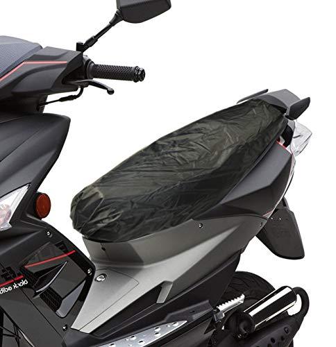 Sitzbank ÜBERZUG Regenschutz Sitz Regen Plane Schonbezug Schnee Sonne Wetter- Schutz für Roller ATV Quad Roller Motorrad (M (S-M-L) 100x68cm)