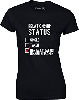 Mentally Dating Hikaru Hitachiin, Ladies Printed T-Shirt