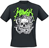 Photo de Havok Fungus Homme T-Shirt Manches Courtes Noir XL, 100% Coton, Regular/Coupe Standard par