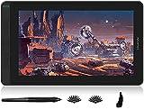 3. 2020 Huion Kamvas 13 GS-1331 Mesa digitalizadora e Monitor de desenho gráfico 2 em 1 Tablet, com Caneta Stylus de 8192 pontos de pressão Sem bateria e 8 teclas de atalho e 10 pontas extras - preto