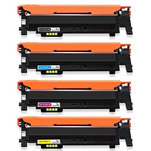 ONINO CLT-K406S CLT-C406S CLT-Y406S Toner Ersatz für Samsung CLT-P406C CLT-406S für Samsung Xpress CLX-3300 CLX-3305 CLX-3305FN CLP-360 C410W C460W C460FW CLP-360N SL-C467W CLP-365 CLP-365W CLP-368