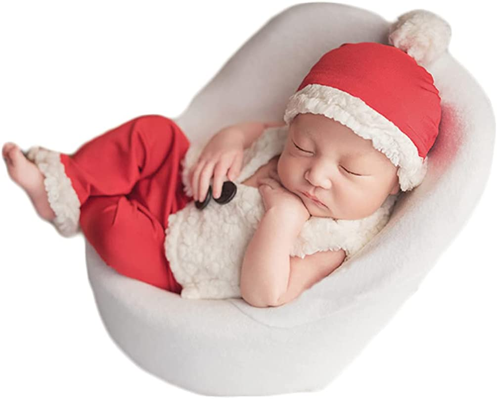 Christmas Newborn Max 90% OFF Baby Spring new work one after another Photo Shoot Clothes Crochet Props Outfits