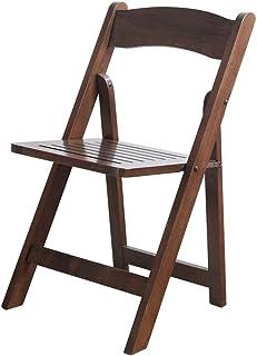 Chaises pliantes en Bois Massif Chaise Simple Mode Enfants Chaise Salon Maison Chambre Adulte Chaise Pêche en Plein Air Po...