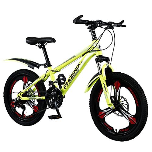 Axdwfd Infantiles Bicicletas 24 Pulgadas, Bicicletas Marco de Acero al Carbono de Alta, por 11-18 Años de Edad Aire Libre Que Monta, la Bicicleta con el Manillar 180 ° Rotary