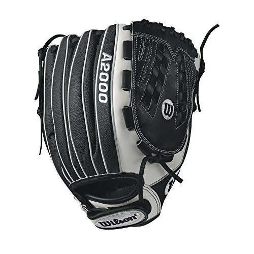 Wilson A2000 V125 SuperSkin 12.5' Outfield Fastpitch Glove - Right Hand Throw