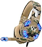 VersionTECH. Casque Gaming pour PS4 Nintendo Switch, Casque Gamer Filaire Militaire...