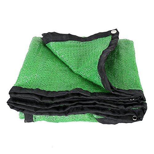 QIANGDA Vert Ombrage 6 Broches Cryptage Filet De Parasol D'été Isolation Thermique Polyéthylène Respirabilité Belvédère Couverture De Pergola, Multi-Taille Optionnel (Taille : 10 x 10m)