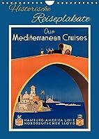 Historische Reiseplakate (Wandkalender 2022 DIN A4 hoch): Kunstvoll gestaltete Reiseposter aus der Zeit 1920-1950 (Monatskalender, 14 Seiten )