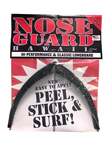 SURFCO Classic LONGBRD Nose Guard Black