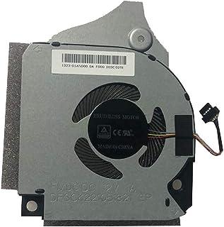 ラップトップ CPU 冷却ファン dell G5 15 5590 P82F 006KT2 06KT2 DFSCK221051821 FM0C DC12V 1A と互換性があります。