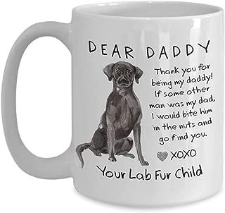 funny black lab