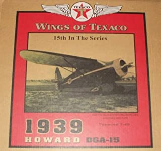 Ertl Wings of Texaco 1939 Howard DGA-15 -15th In The Series