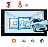 Android Car Stereo System Octa Core Double 2 Din Car Video Player with Bluetooth Dual Zone GPS Nvaigation Car Stereo Auto Radio Unit Full Touch Screen WiFi Mirror Link 1080P Video USB SD OBD2 No DVD P