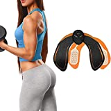 UMATE Abs Stimulator Electric Hips Trainer,Muscle Stimulator,Hip Trainer,Electronic Backside Muscle Toner, Smart Wearable Buttock Ab Stimulator for Men Women,Slimming Machine