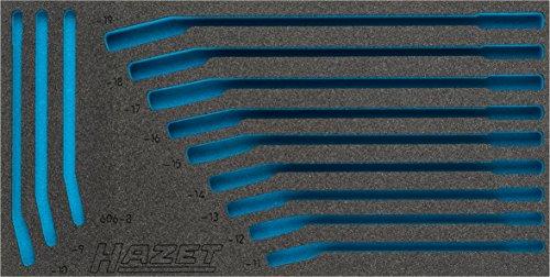 Hazet 2K-Weichschaum-Einlage für Werkstatt, 1 Stück, 163-385L