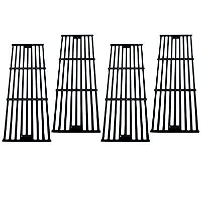 Direct Store Parts DC114 (4-Pack) Polished Porcelain Coated Cast Iron Cooking Grid Replacement Chargriller, King Griller Gas Grill (4)