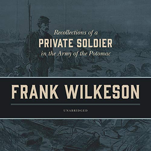 Recollections of a Private Soldier in the Army of the Potomac audiobook cover art