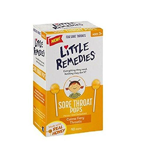 Little Colds Honey Pops Lollipop 10 Count 2 Pack