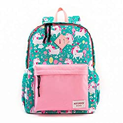 professional Preschool backpack for boys and girls with chest straps Toddler backpack (unicorn)