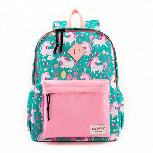 Preschool Backpack Little Kid Toddler Backpacks for Boys and Girls with Chest Strap (Unicorn)