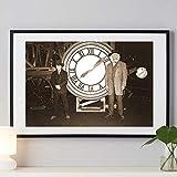 GJQFJBS Ritorno al Futuro Pittura su Tela Film Classico Film Retro Foto Wall Art Picture Picture for Living Room Home Decor (Frameless) A1 40x70CM