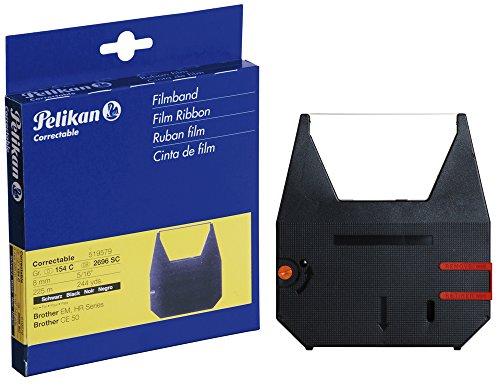 Pelikan Farbband Gruppe 154 C Correctable für Brother CE 50/EM 200, schwarz